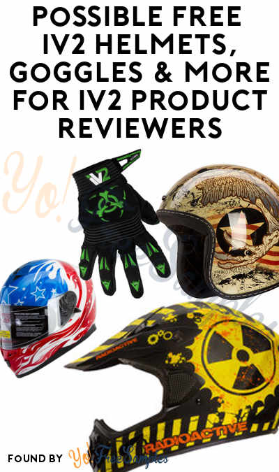Possible FREE IV2 Helmets, Goggles & More For IV2 Product Reviewers (Must Apply)
