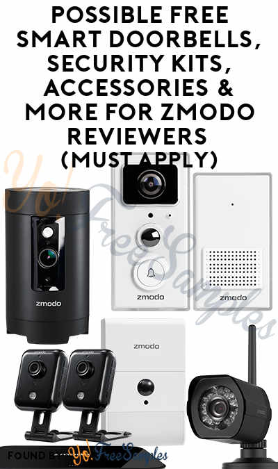 Possible FREE Smart Doorbells, Indoor + Outdoor Monitoring, Security Kits, Accessories & More For Zmodo Reviewers (Must Apply)