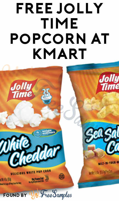 TODAY ONLY: FREE Jolly Time Popcorn At Kmart