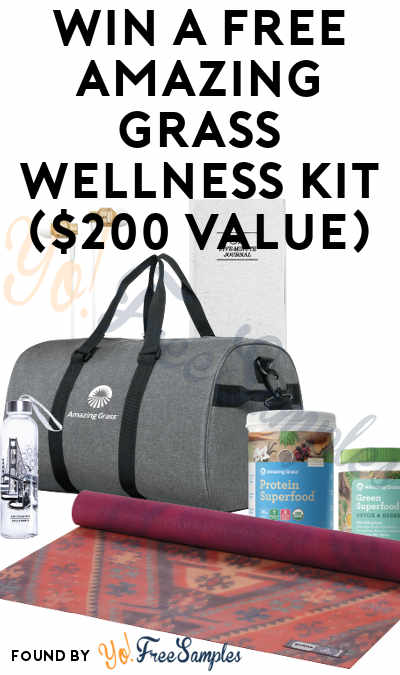 Win A FREE Amazing Grass Wellness Kit ($200 Value)