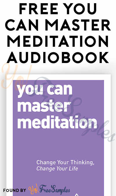 FREE You Can Master Meditation Audiobook From Penguin Random House