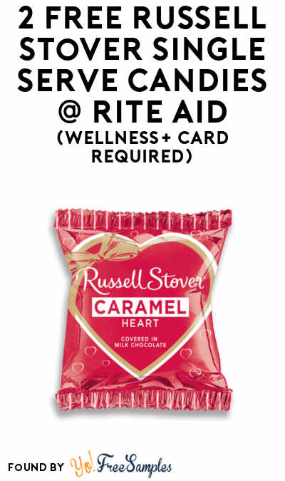2 FREE Russell Stover Single Serve Candies At Rite Aid (Wellness+ Card Required)