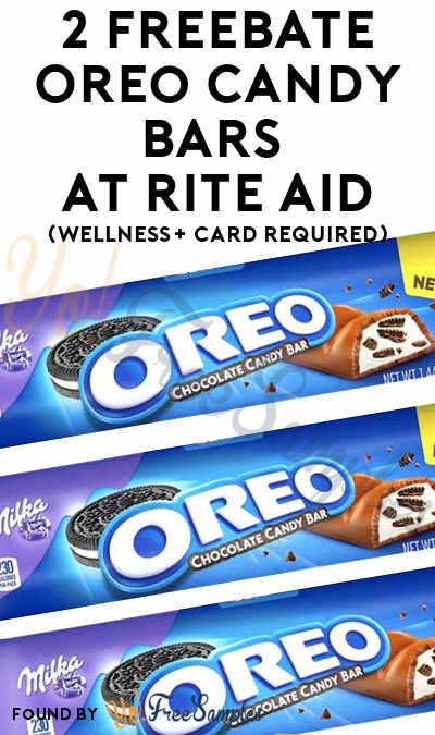 2 FREEBATE Oreo Candy Bars At Rite Aid (Wellness+ Card Required)