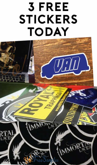 3 FREE Stickers Today: VAN Sticker, Royal Trappings Stickers & Immortal Laces Stickers