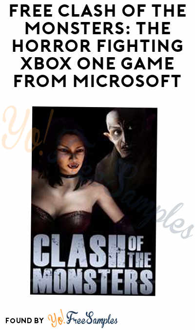 FREE Clash of the Monsters: The Horror Fighting Xbox One Game From Microsoft