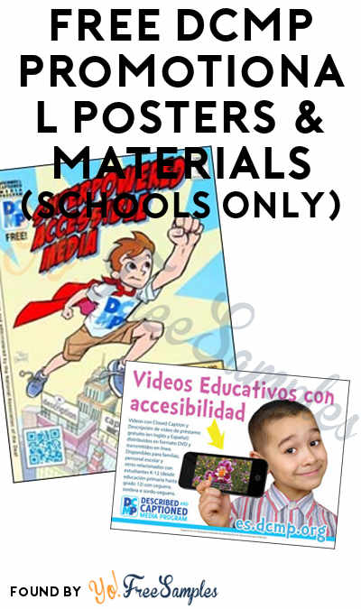 FREE DCMP Promotional Posters & Materials (Schools Only)