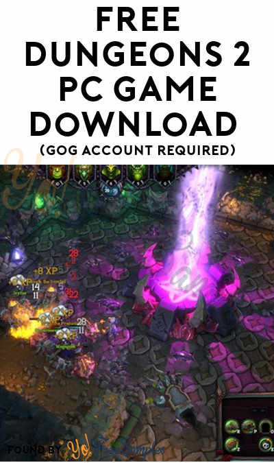 FREE Dungeons 2 PC Game Download (GOG Account Required)