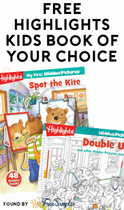 FREE Highlights Kids Book Of Your Choice [Verified Received By Mail]