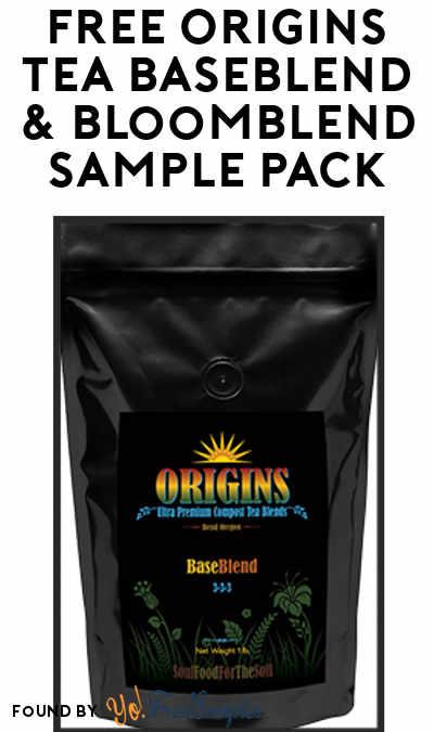 FREE Origins Tea BaseBlend & BloomBlend Sample Pack