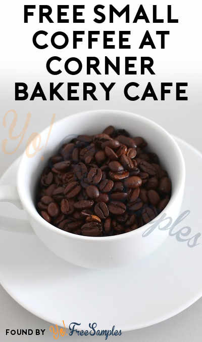 FREE Small Coffee At Corner Bakery Cafe