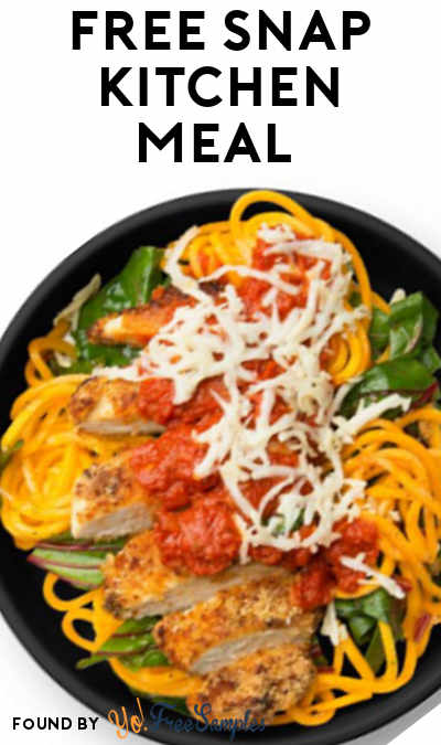 FREE Snap Kitchen Meal (Select Areas)