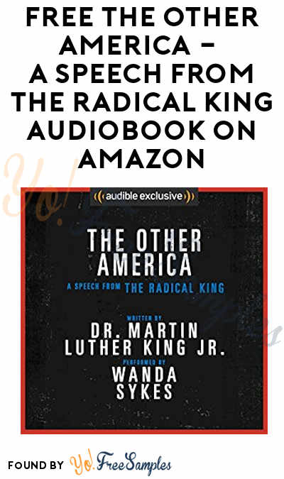 FREE The Other America – A Speech from The Radical King Audiobook On Amazon