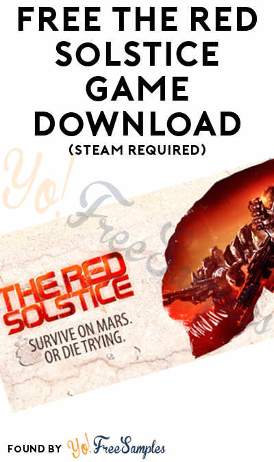 FREE The Red Solstice Game Download (Steam Required)