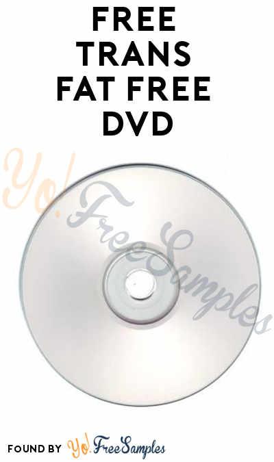FREE Trans Fat Free DVD