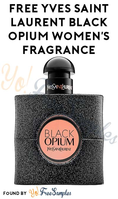 FREE Black Opium Women's Fragrance Sample (Cell Phone Confirmation Required) [Verified Received By Mail]
