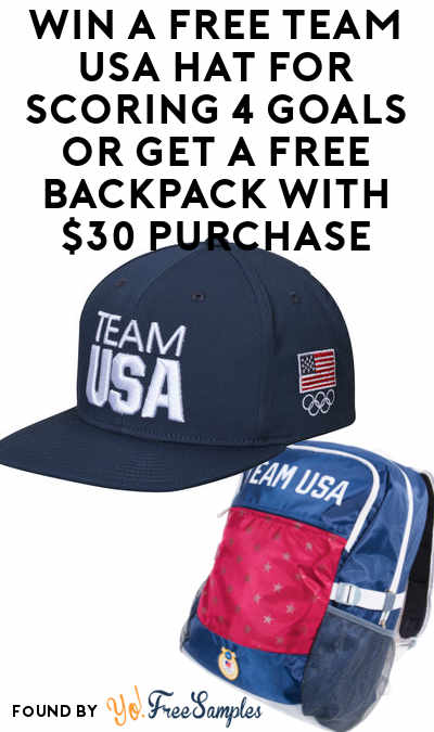 FREE P&G Samples or Win A FREE Team USA Hat For Scoring 4 Goals or Get A FREE Backpack With $30 Purchase