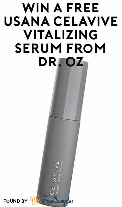 Win A FREE USANA Celavive Vitalizing Serum From Dr. Oz
