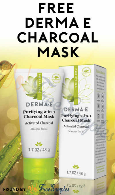 NEW ONE! FIRST 5K: FREE Derma E Purifying 2-in-1 Charcoal Mask [Verified Received By Mail]