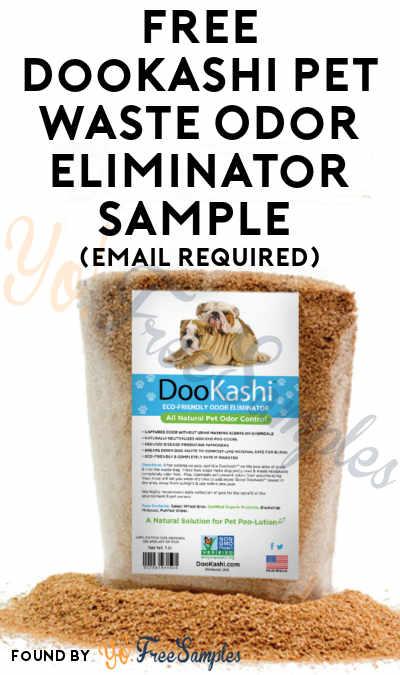 FREE DooKashi Pet Waste Odor Eliminator Sample (Email Required)
