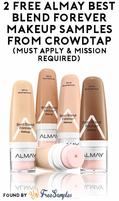 2 FREE Almay Best Blend Forever Makeup Samples From CrowdTap (Must ...