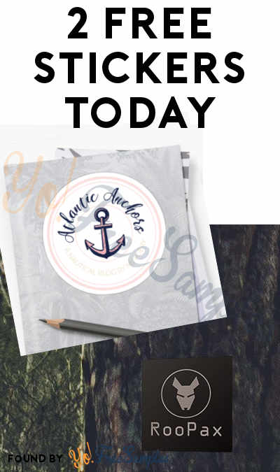 2 FREE Stickers Today: Atlantic Anchors Sticker & RooPax Sticker