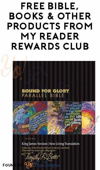FREE Bible, Books & Other Products From My Reader Rewards Club