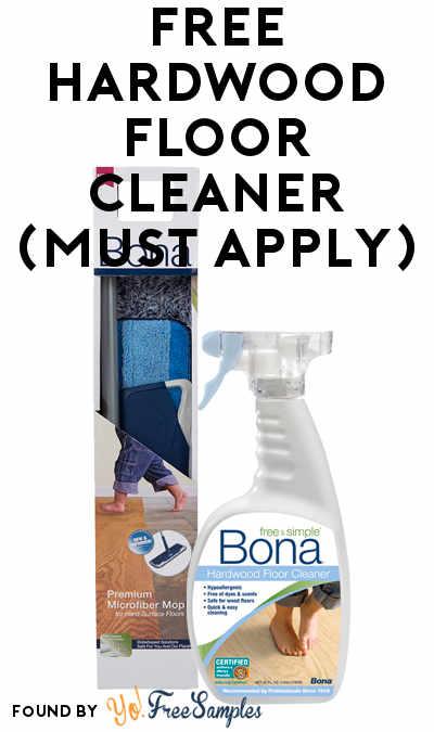 FREE Bona Hardwood Floor Cleaner (Mom Ambassador Membership Required)