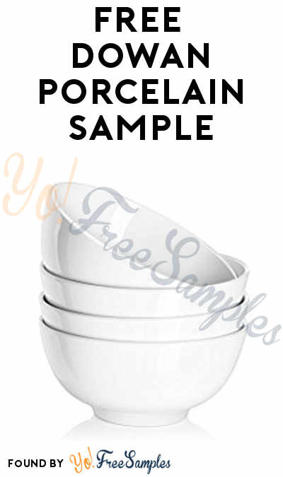FREE DOWAN Porcelain Sample