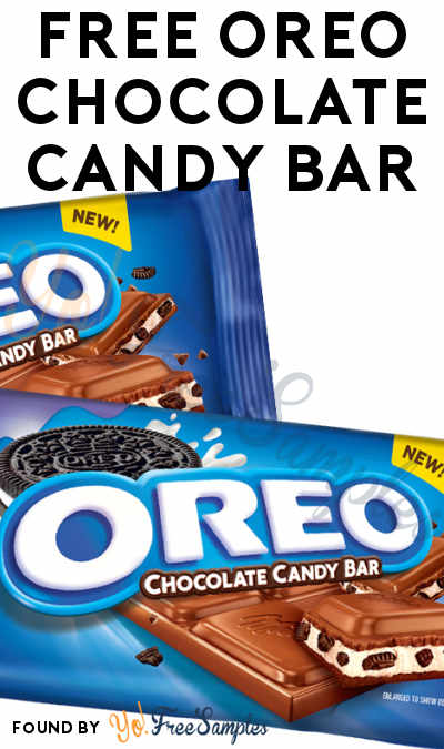 FREE Full-Size OREO Chocolate Candy Bar Coupon