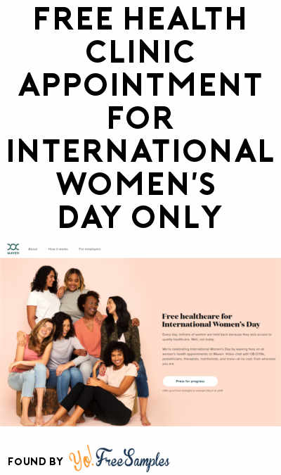 FREE Health Clinic Appointment For International Women's Day Only