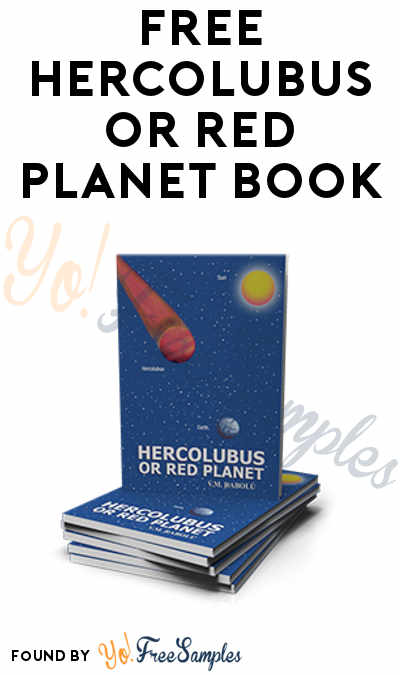 FREE Hercolubus or Red Planet Book [Verified Received By Mail]