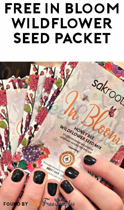 FREE In Bloom Wildflower Seed Packet