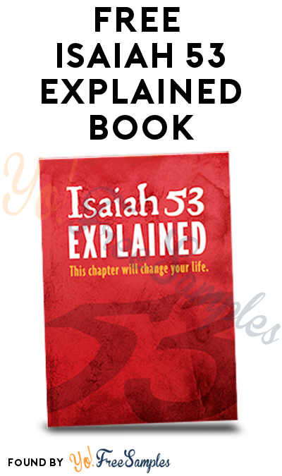 FREE Isaiah 53 Explained Book