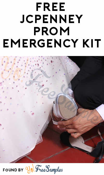 TODAY: FREE JCPenney Prom Emergency Kit On March 17 For First 40