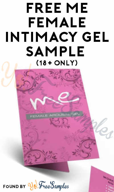 FREE ME Female Intimacy Gel Sample (18+ Only)