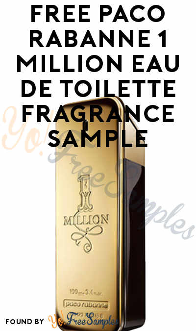 FREE Paco Rabanne 1 Million Eau de Toilette Fragrance Sample