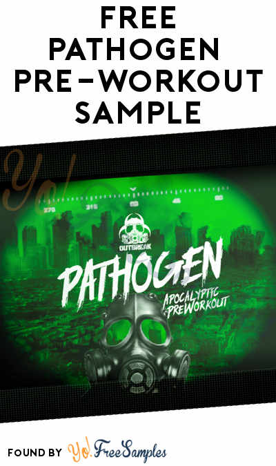 FREE Pathogen Apocalyptic Pre-Workout Supplement Sample