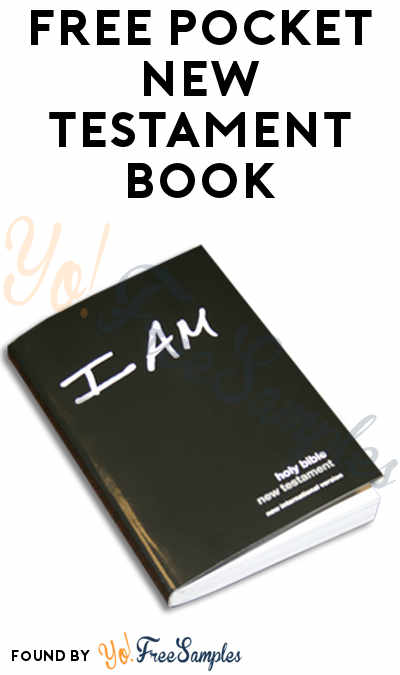FREE Pocket New Testament Book