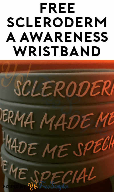 FREE Scleroderma Awareness Wristband