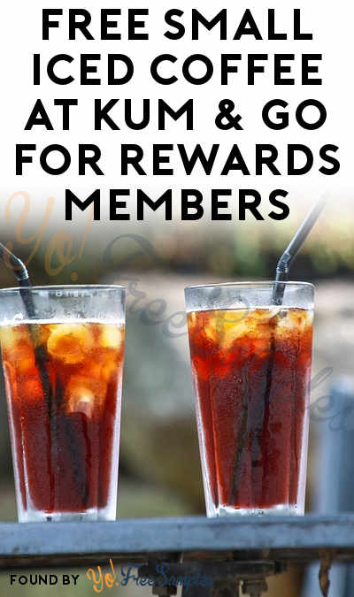 FREE Small Iced Coffee At Kum & Go For Rewards Members