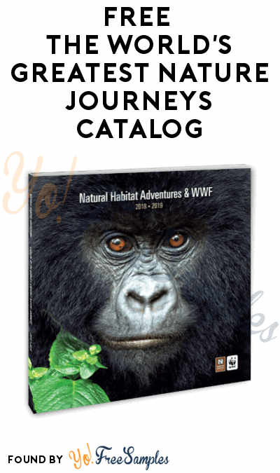FREE The World's Greatest Nature Journeys Catalog