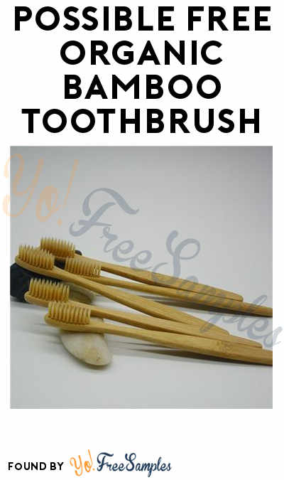 Possible FREE Organic Bamboo Toothbrush
