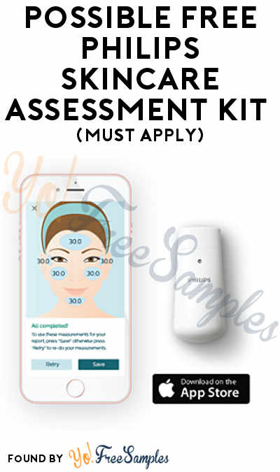 Possible FREE Philips Skincare Assessment Kit (Must Apply)