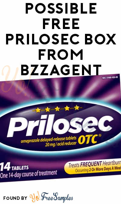 Possible FREE Prilosec 14-Count From BzzAgent