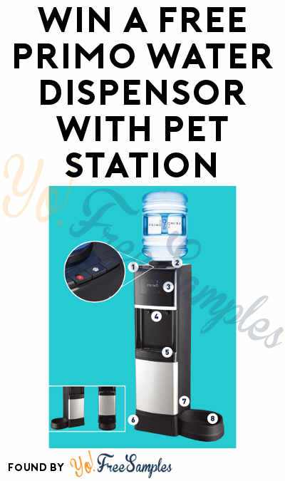 Win A FREE Primo Water Dispensor With Pet Station