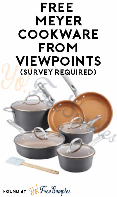 FREE Anolon, Ayesha Curry, Circulon, Farberware & Rachael Ray Cookware From ViewPoints (Survey Required)