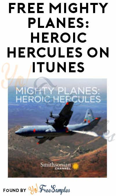 FREE Mighty Planes: Heroic Hercules On iTunes