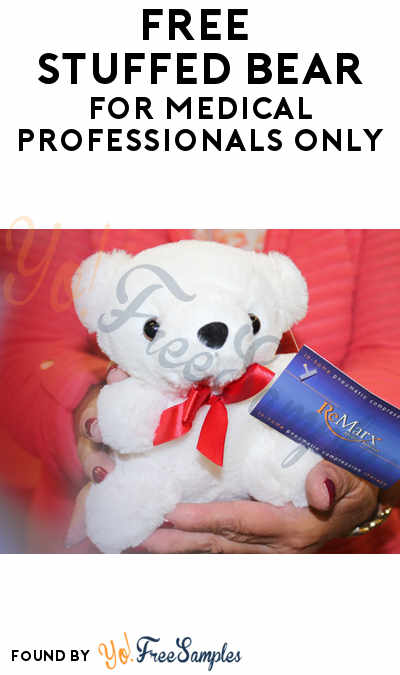 FREE Stuff Bear For Medical Professionals Only