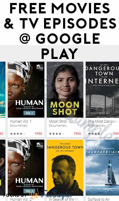FREE Movies & TV Episodes On Google Play