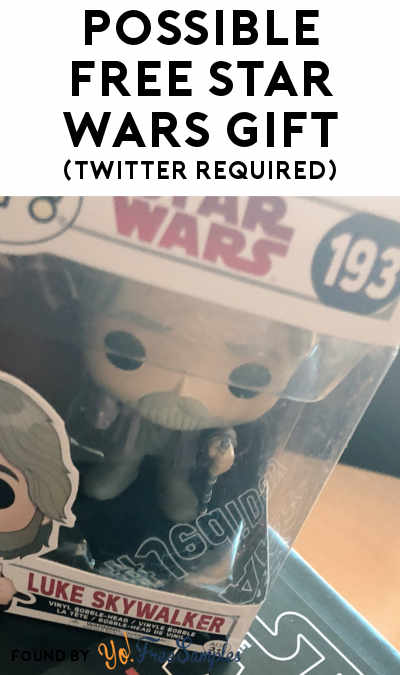 Possible FREE Star Wars Gift From GoFooji (Twitter Required + Select Areas Only)